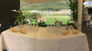 Restaurant on Lake Garda with typical Trentino cuisine